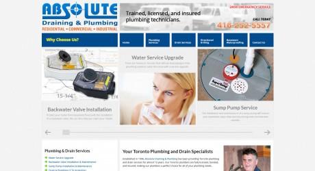 absolutedp.com web design image