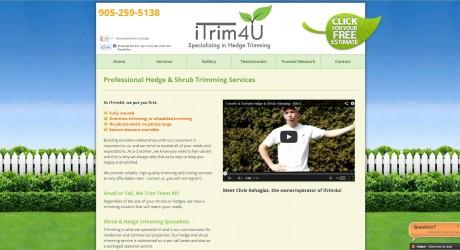 itrim4u.com web design portfolio item